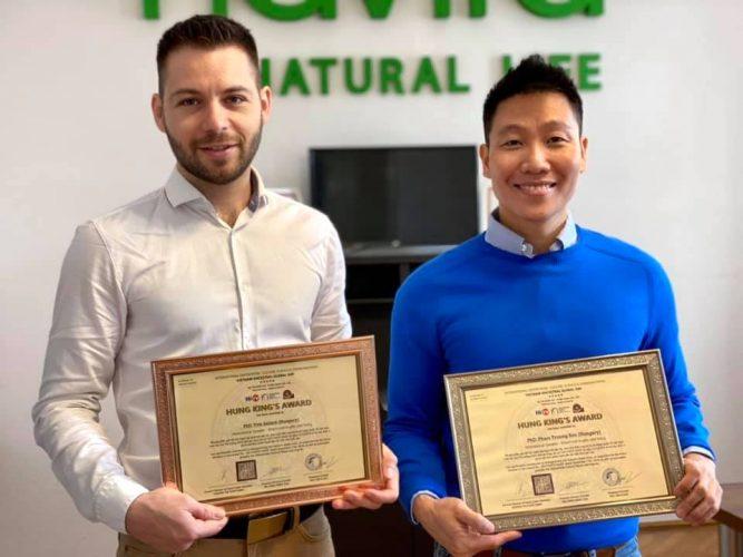 Hung King Award Vietnam 2021 Motivációs Előadói díj